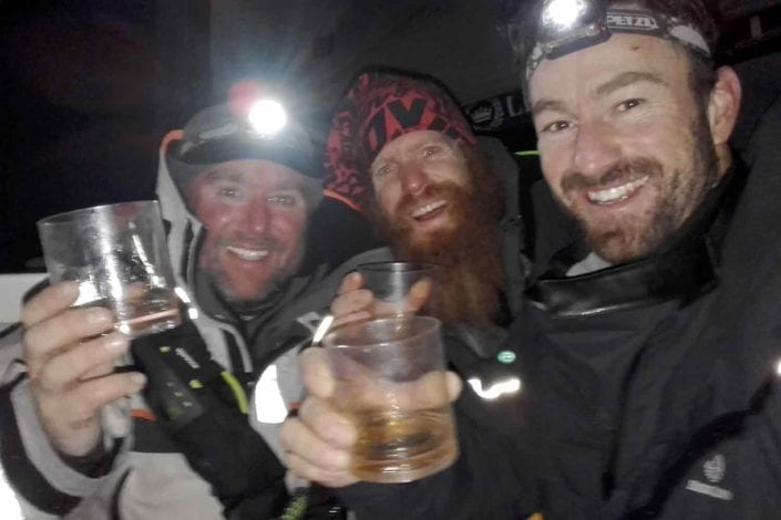 Alex Alley, Sean Conway, Phil Sharp - Thanks Laddies