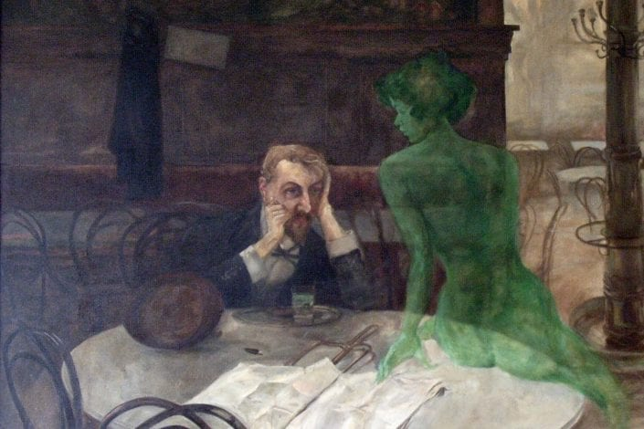 the absinthe drinker - thujone