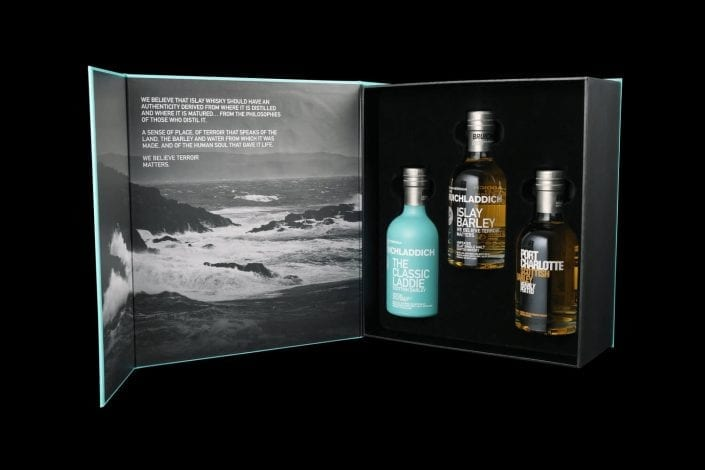 Wee Laddie Giftboxes Tasting Sets by Bruichladdich