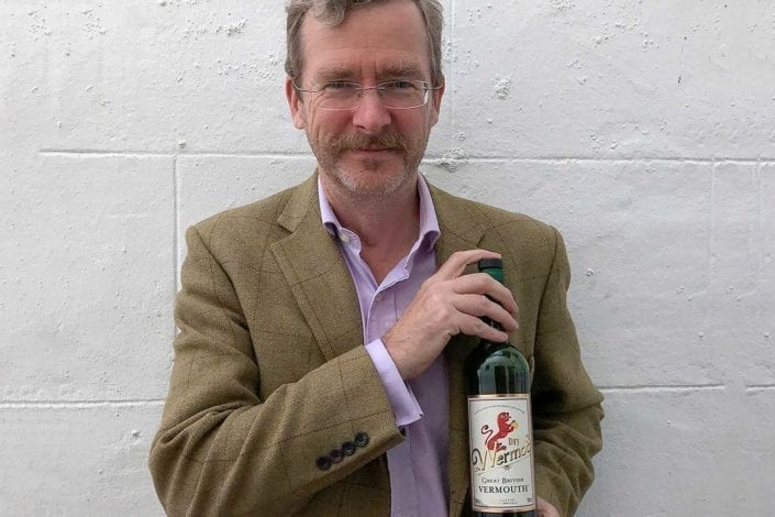Michael Kaplan Great British Vermouth and The Botanis