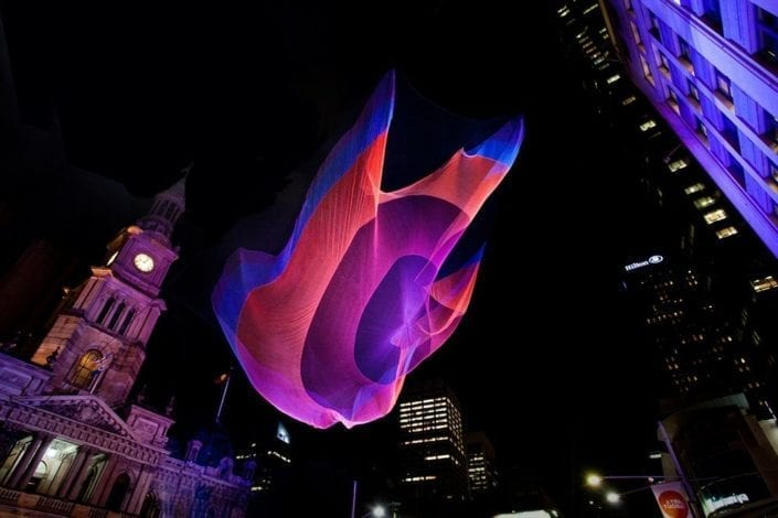 We Made It: Aerial Net Sculptures by Janet Echelman